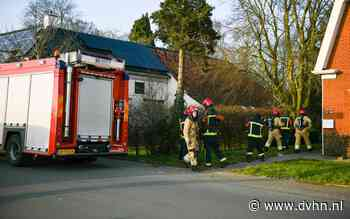 Woning ontruimd vanwege brand in keuken in Foxham in Hoogezand
