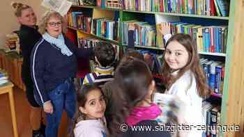 Lebendiger Bücherschrank ist zurück am Laagberg