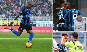 Inter 1-1 Cagliari: Ashley Young shows Man United what they're missing on Inter debut with assist