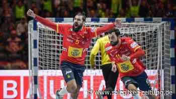 Endspiel in Stockholm: EM-Triumph für Spaniens Handballer: Sieg gegen Kroatien