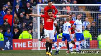 Maguire 8/10 as United smash six past Tranmere