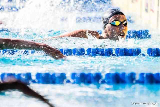 Weitzel Breaks 50 FR Pool/Cal Dual Meet Record; Ivey Triples vs. ASU