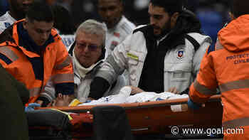 Lyon forward Terrier recovering after on-pitch collapse