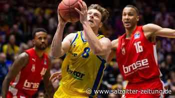 Basketball Löwen gewinnen gegen Bamberg