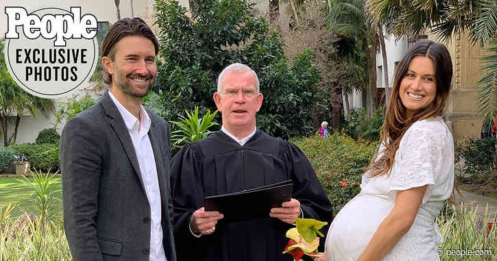 Surprise! Brandon Jenner Marries Pregnant Fiancée Cayley Stoker in Courthouse Wedding