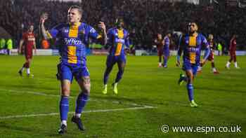 Shrewsbury rally to force FA Cup replay with Liverpool