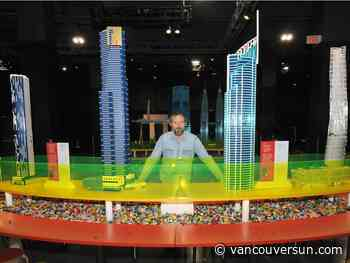 Science World's Towers of Tomorrow LEGO exhibit challenges heights of creativity