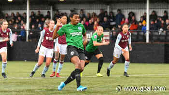 Nigeria striker Umotong leads Brighton past Aston Villa in Women's FA Cup