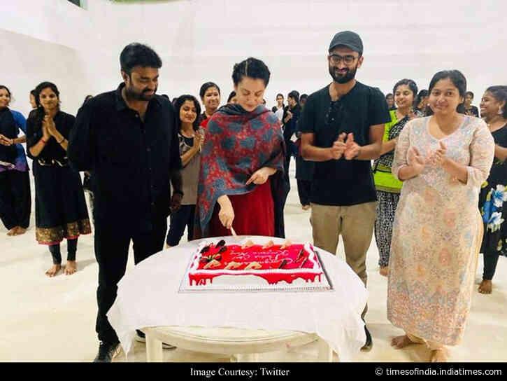 Pics: Kangana celebrates Padma Shri honour