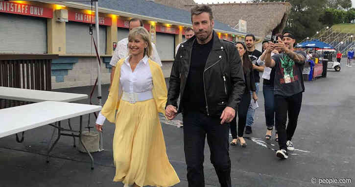 John Travolta and Olivia Newton-John Call Their Grease Reunion a 'Glorious Experience'
