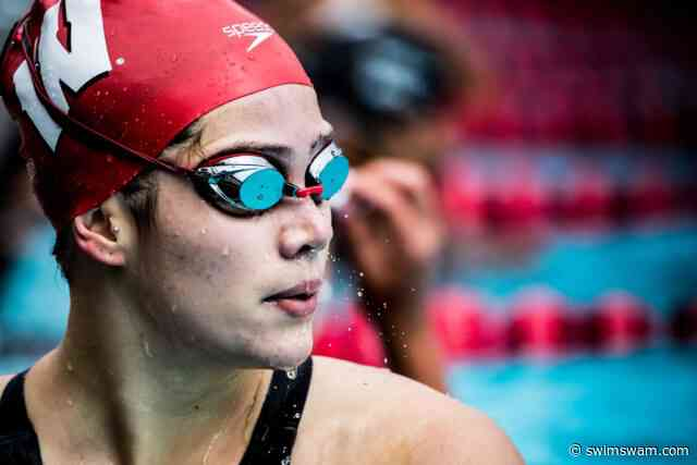 Despite Three Pool Records from Beata Nelson, NU Women Defeat Wisconsin
