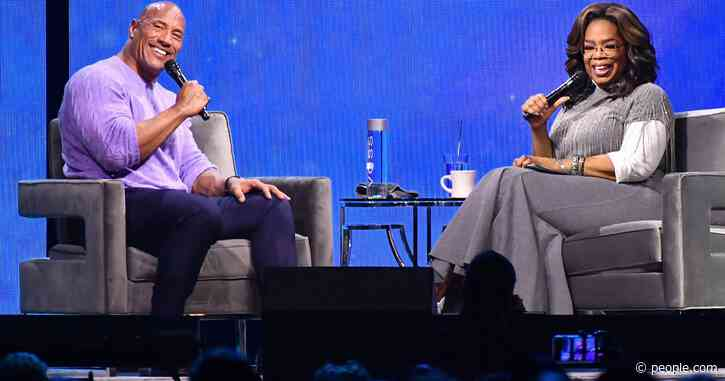 Oprah Winfrey & Dwayne Johnson Sip Tequila During 'Epic Chat' as She Pays Tribute to His Late Father