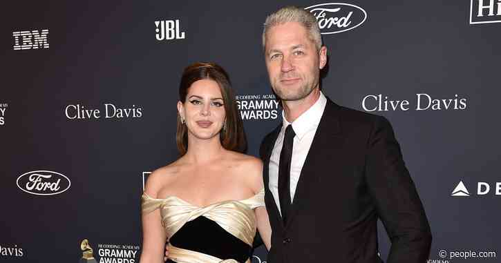 Lana Del Rey Makes Red Carpet Debut with Boyfriend Sean 'Sticks' Larkin at Pre-Grammys Gala