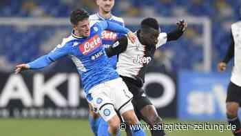 Serie A: Juventus Turin verliert beim SSC Neapel