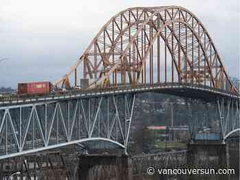 Seismic and wind warning system goes live soon on Pattullo Bridge