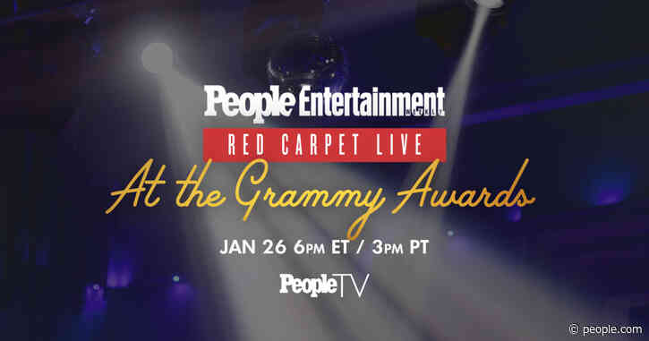 Watch the Grammy Awards Red Carpet Livestream with PeopleTV