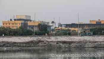 US-Ziele im Irak: Rakete trifft Gelände der US-Botschaft in Bagdad