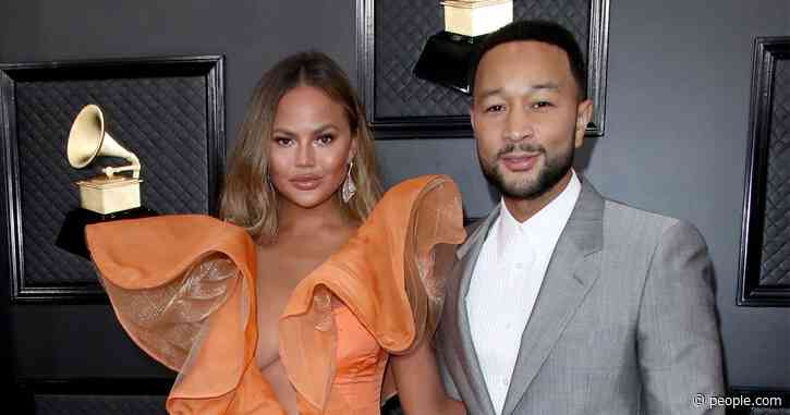 Chrissy Teigen and John Legend Attend the Grammys as They Mourn Kobe Bryant: 'Everyone Is Numb'