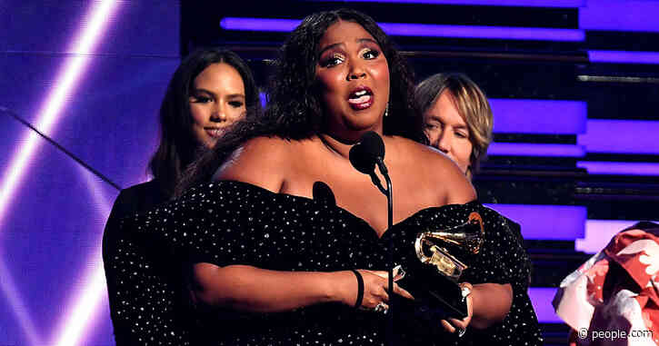 Lizzo Tearfully Accepts Third Grammy of the Night: 'Let's Continue to Lift Each Other Up'