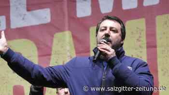 Niederlage nach Hochrechnungen: Dämpfer für Salvini bei Regionalwahl in Italien