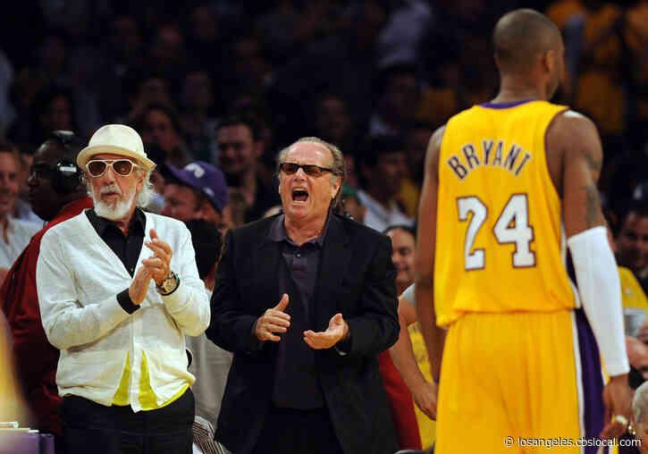 Longtime Lakers Fan Jack Nicholson Mourns The Loss Of Kobe Bryant