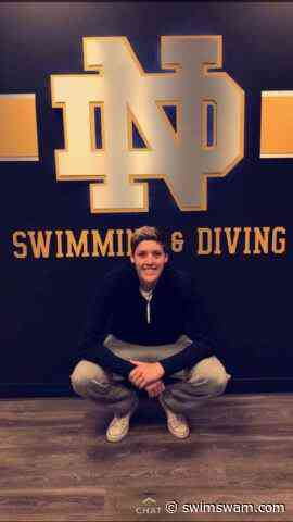 Freshman Jack Hoagland Swims 14:46 Mile on Final Day of Shamrock invite