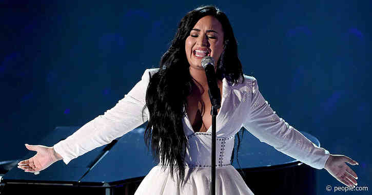 Tearful Demi Lovato Emotionally Debuts Song 'Anyone,' Written Before Overdose, at Grammys
