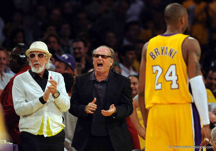 Emotional Jack Nicholson Mourns Kobe Bryant In Rare Interview: 'There's A Big Hole In The Wall'