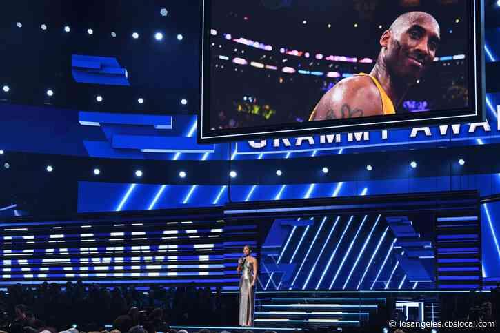 Artists Pay Tribute To Kobe Bryant At Grammy Awards