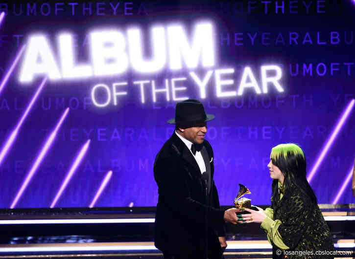 Billie Eilish Sweeps 'Big Four' During Emotional GRAMMY Awards From 'The House That Kobe Bryant Built'