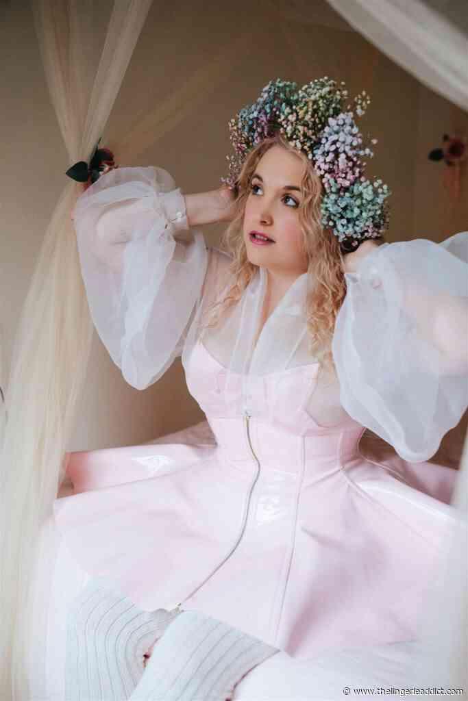Lingerie as Outerwear: Artifice Clothing PVC Corset Skirt