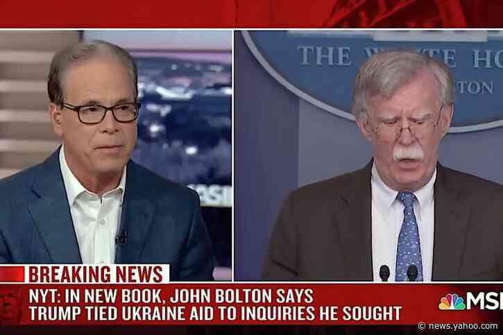 GOP Sen. Mike Braun: 'It'll be interesting to see' how Senate Republicans react to Bolton's bombshell