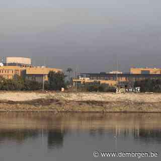 Raketten treffen Amerikaanse ambassade Bagdad, mogelijk gewonden