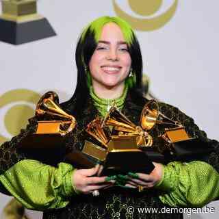 Billie Eilish sleept álle belangrijke Grammy's in de wacht en schrijft geschiedenis