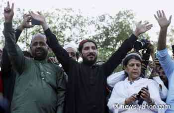Pakistan arrests human rights leader who criticized army