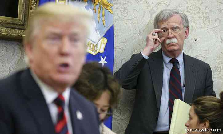 Bolton Revelation May Scramble Trump's Trial