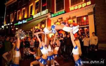 Super Bowl Sunday met Groningen Giants in Sportcafé De Groote Griet in Groningen