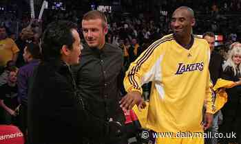 David Beckham pays emotional tribute to Kobe Bryant following NBA legend's tragic death