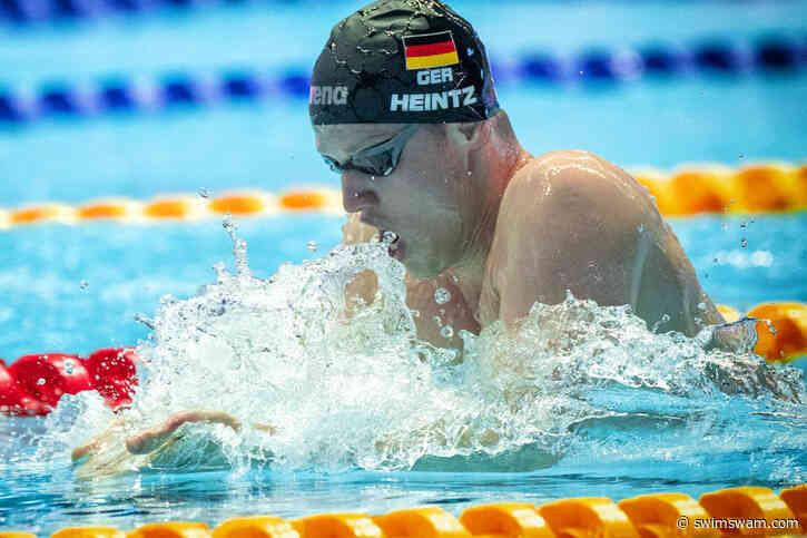 Philip Heintz Stacca Il Pass Per La Sua Terza Olimpiade All'Euro Meet