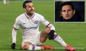 Vissel Kobe 'plot move for Chelsea's Pedro' as winger has slipped down pecking order
