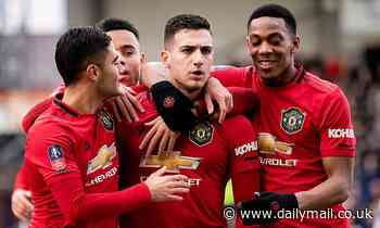 Diogo Dalot admits he has had a 'tough journey' at Manchester United after scoring first goal
