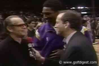 Jack Nicholson asking a 19-year-old Kobe Bryant for his autograph is the only Kobe video you need today