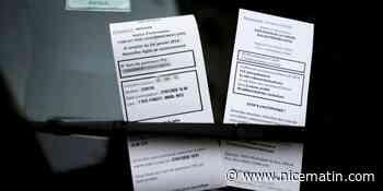 Ces (faux) PV distribués à gogo dans le centre de Nice sont en fait... des tracts électoraux