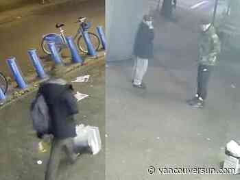 Vancouver police release video footage, seek information in West End assault
