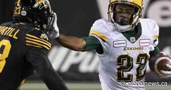 Edmonton Eskimos re-up with kick returner Christion Jones