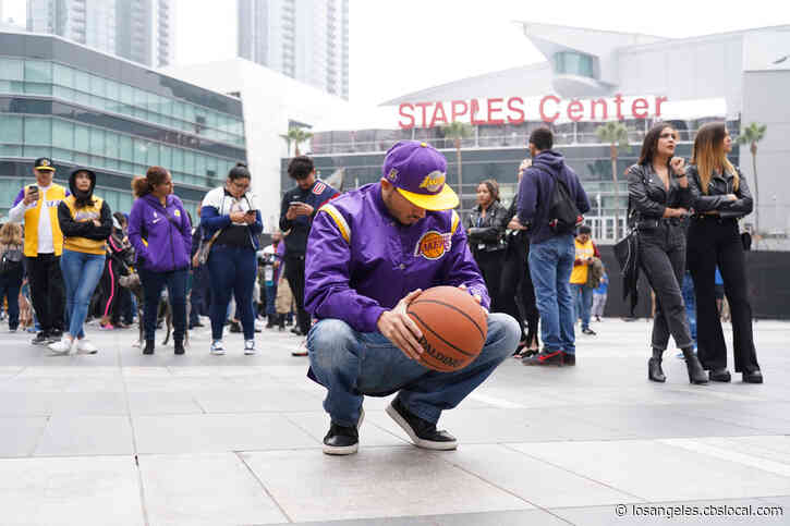 Lakers, Clippers Game Postponed 'Out Of Respect' For Kobe Bryant
