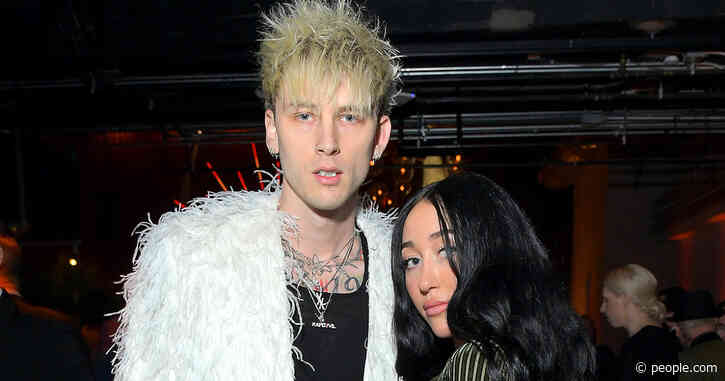 New Couple? Machine Gun Kelly and Noah Cyrus Hold Hands, Get Flirtatious at Grammys Afterparty