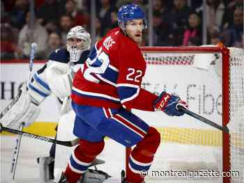 Reaching 500-game mark a badge of honour for Canadiens' Dale Weise