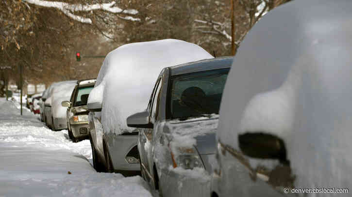 Despite Lack Of Snow This Month, CDOT Has Used 60% Of Its Snow Removal Budget
