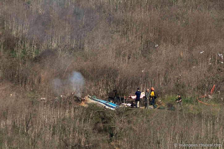 NTSB Begins Investigation, Recovery Effort At Calabasas Crash Site